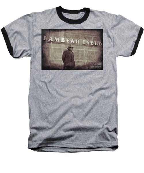 Lombardi At Lambeau Baseball T-Shirt