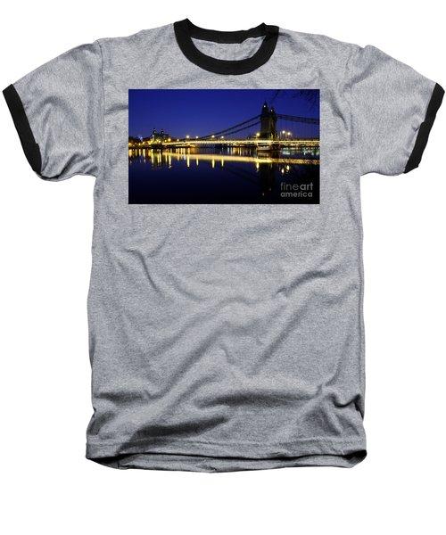 London 11 Baseball T-Shirt by Mariusz Czajkowski
