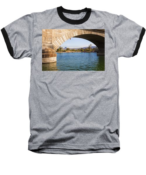 London Bridge At Lake Havasu City Baseball T-Shirt