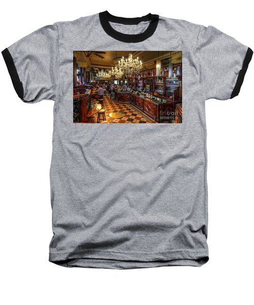London Bridge Pub Baseball T-Shirt
