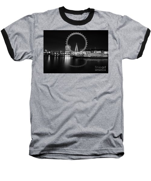 London Eye Mono Baseball T-Shirt