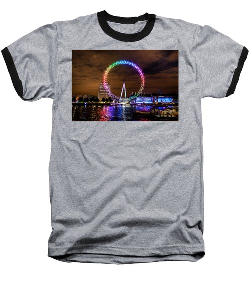 London Eye Pride Baseball T-Shirt