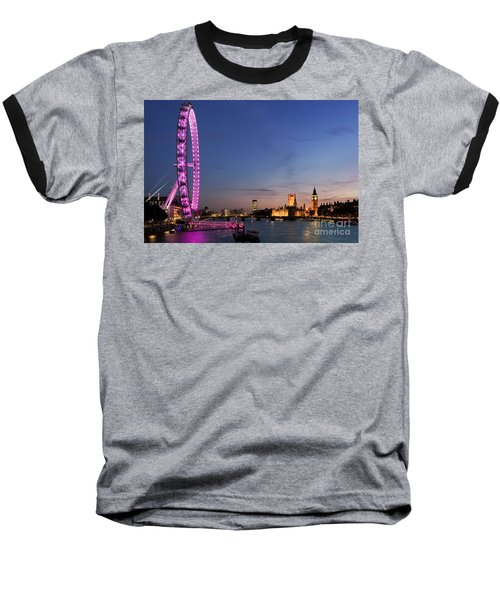 London Eye Baseball T-Shirt