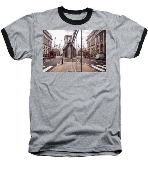 London Reflected Baseball T-Shirt by Matt Malloy