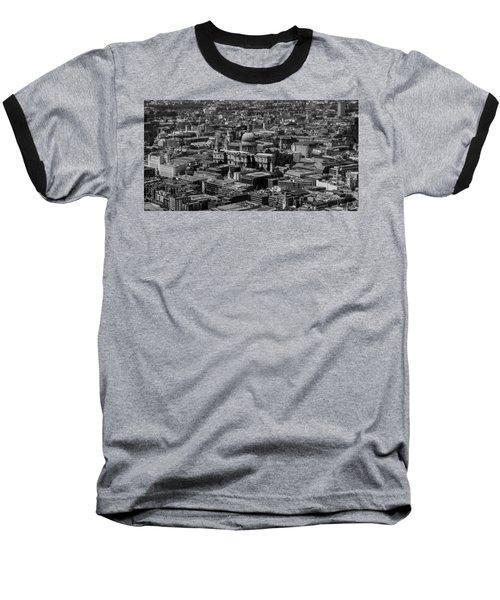 London Skyline Baseball T-Shirt by Martin Newman