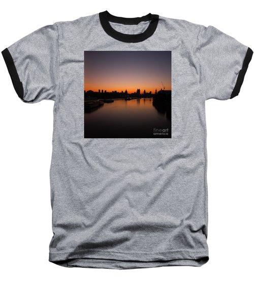 London Sunrise 2 Baseball T-Shirt by Mariusz Czajkowski