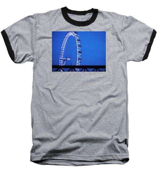London's Eye At Dusk Baseball T-Shirt