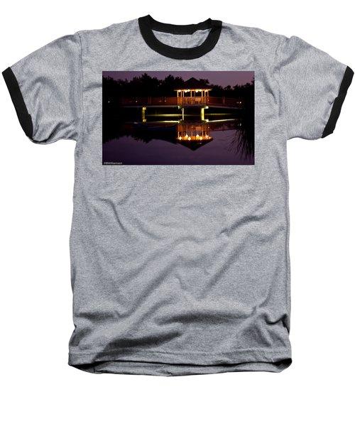 Lone Canoe Baseball T-Shirt