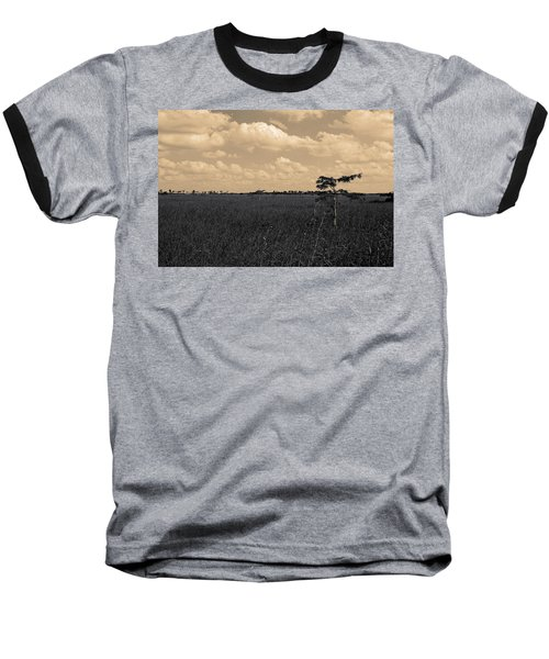 Lone Cypress II Baseball T-Shirt