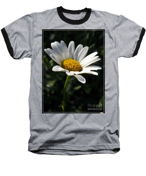 Lone Daisy Baseball T-Shirt