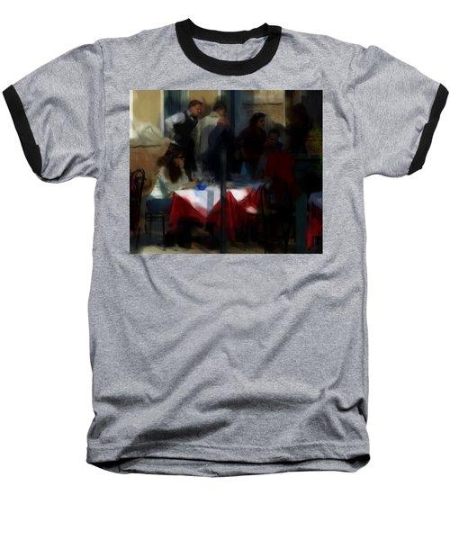 Lone Diner Baseball T-Shirt