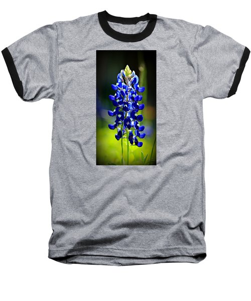 Lone Star Bluebonnet Baseball T-Shirt