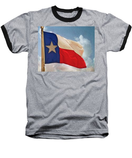 Lone Star Flag Baseball T-Shirt