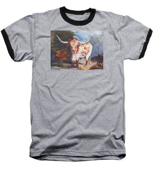 Lone Star Longhorn Baseball T-Shirt