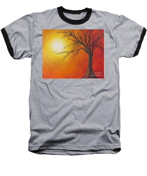 Lone Tree Baseball T-Shirt by Denise Hoag