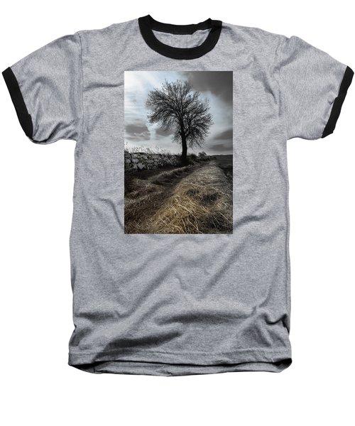Baseball T-Shirt featuring the photograph Lone Tree by Edgar Laureano