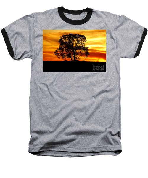 Lone Tree Baseball T-Shirt by Mary Carol Story
