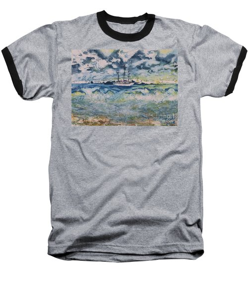 Lone Vessel  Baseball T-Shirt