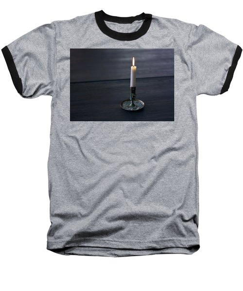 Lonely Candle Baseball T-Shirt