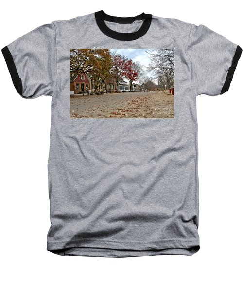 Lonely Colonial Williamsburg Baseball T-Shirt