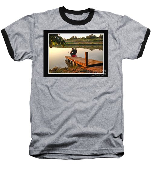 Lonely Guitarist Baseball T-Shirt