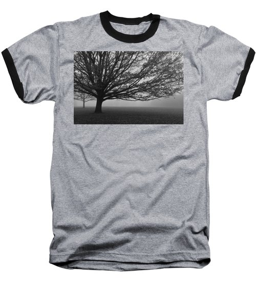 Baseball T-Shirt featuring the photograph Lonely Low Tree by Maj Seda