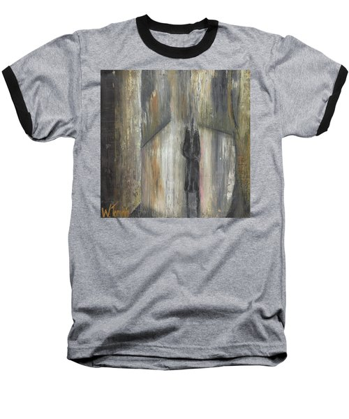 'lonely Road Without Him' Baseball T-Shirt
