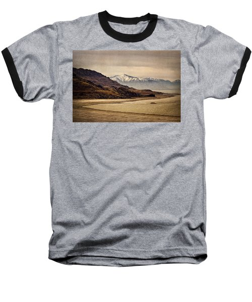 Baseball T-Shirt featuring the photograph Lonesome Land by Priscilla Burgers