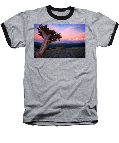 Lonesome Pine Baseball T-Shirt by Jim Garrison