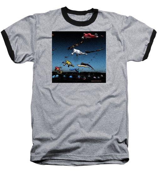 Long Beach Kites 2012 Baseball T-Shirt