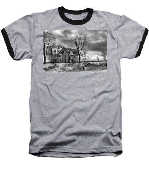 Long Hard Winter Baseball T-Shirt
