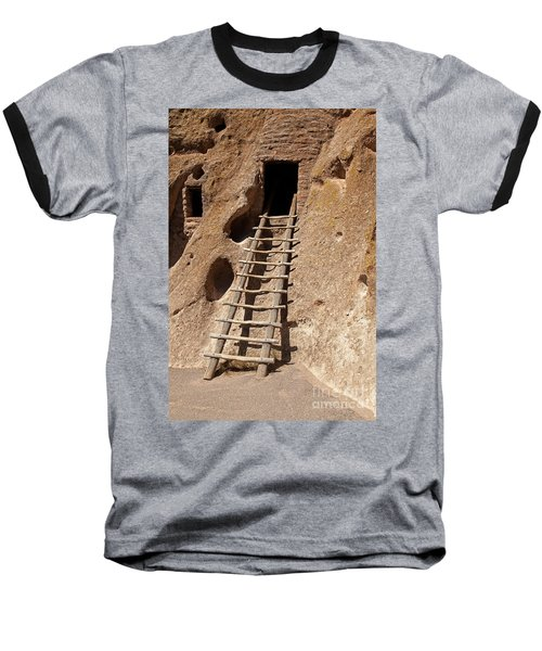 Long House Front Door Bandelier National Monument Baseball T-Shirt
