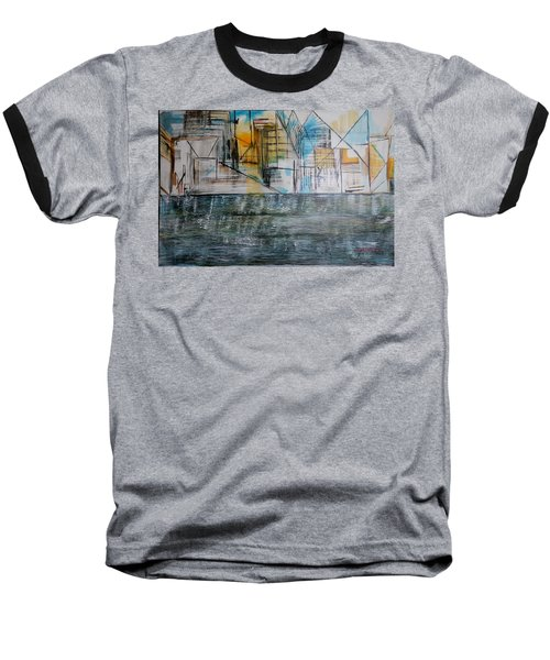 Long Island City Pov3 Baseball T-Shirt