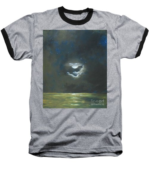 Baseball T-Shirt featuring the painting Long Journey Home by Marlene Book