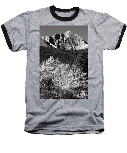 Longs Peak 14256 Ft Baseball T-Shirt