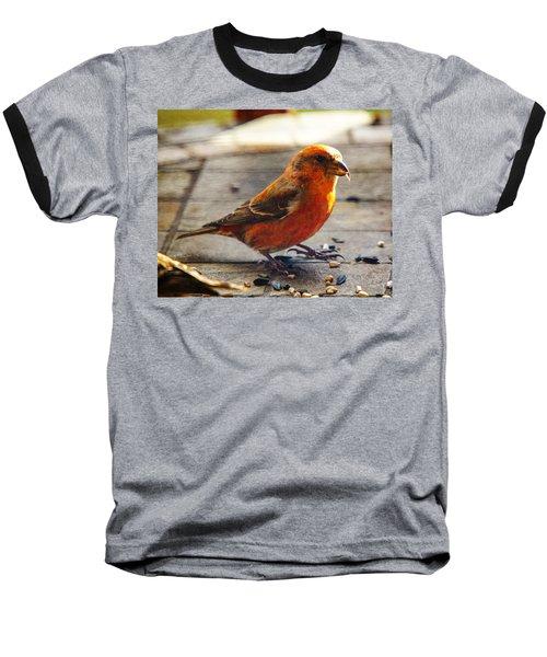 Look - I'm A Crossbill Baseball T-Shirt