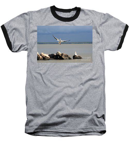 Look Ma - I Can Fly Baseball T-Shirt