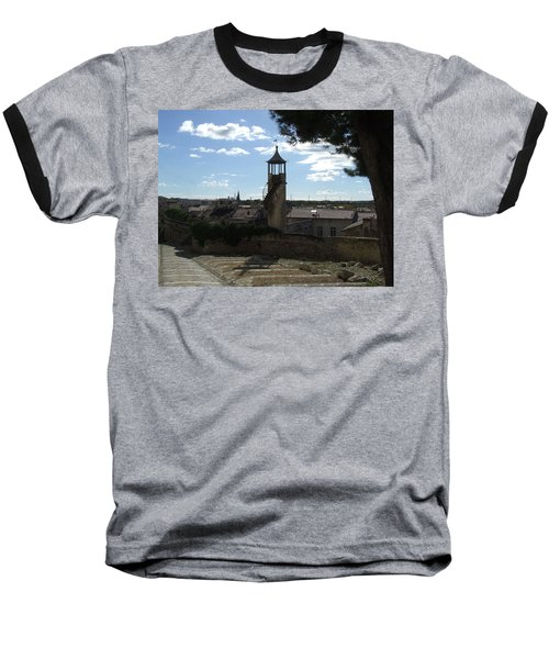 Look Out Tower On The Approach To Beaucaire Castle Baseball T-Shirt