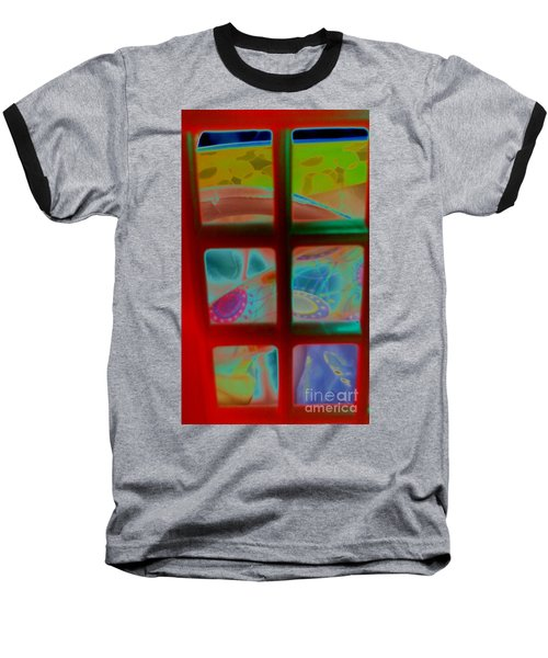 Look Through Any Window Baseball T-Shirt