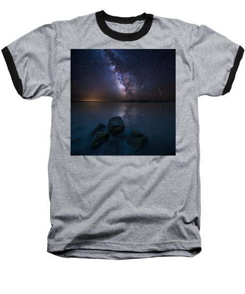 Looking At The Stars Baseball T-Shirt