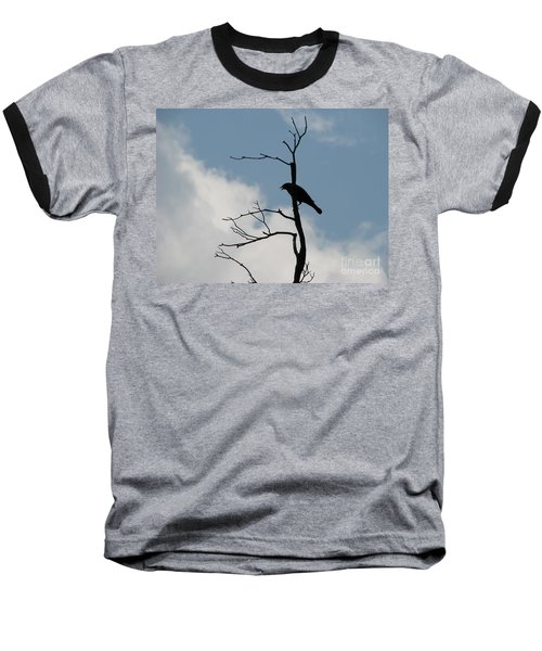 Baseball T-Shirt featuring the photograph Looking Down On Me  by Michael Krek