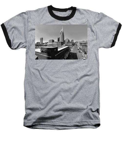Looking Down On Nashville Baseball T-Shirt by Dan Sproul