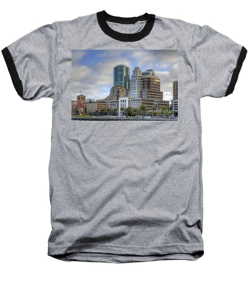 Baseball T-Shirt featuring the photograph Looking Downtown by Kate Brown