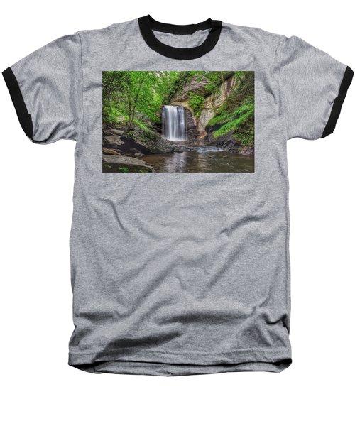 Looking Glass Falls Baseball T-Shirt