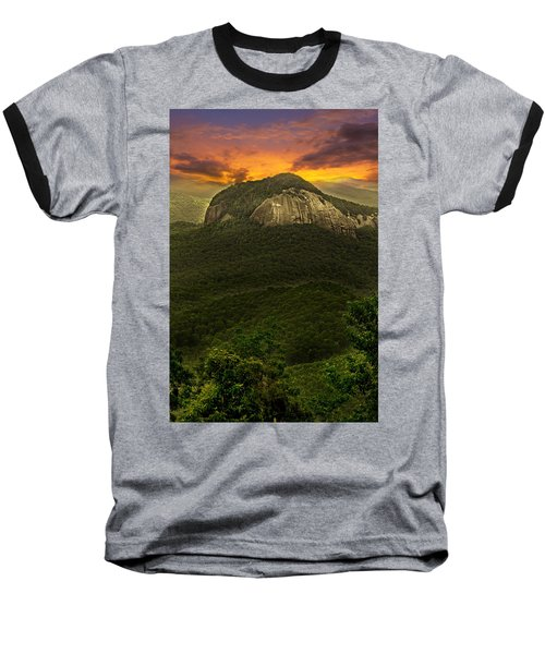 Looking Glass Rock North Carolina  Baseball T-Shirt
