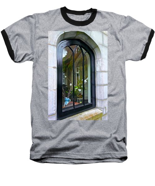 Baseball T-Shirt featuring the photograph Looking In by Charlie and Norma Brock
