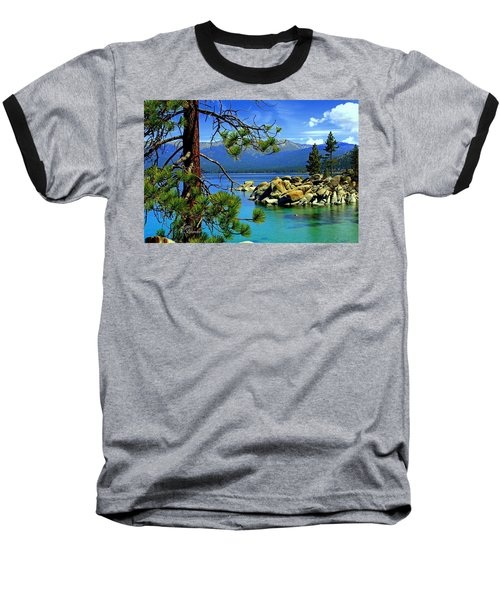 Looking North Baseball T-Shirt