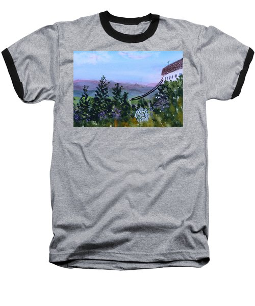 Looking Out From Top Of Jay Peak  Baseball T-Shirt