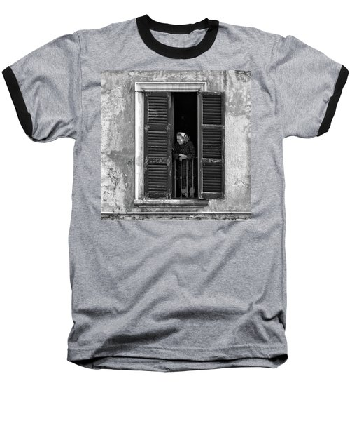Looking Outside Baseball T-Shirt