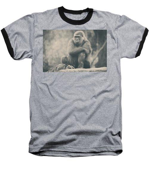 Looking So Sad Baseball T-Shirt
